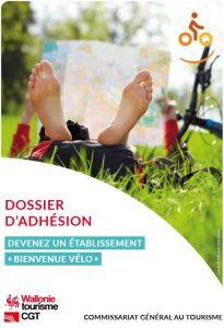 Dossier d'adhésion Bienvenue Vélo