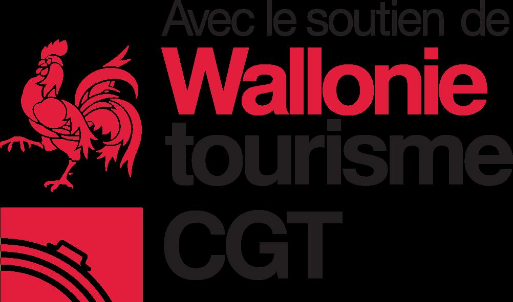 """Logo """"avec le soutien du CGT"""""""