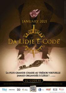 Da Lîdje E-Code, chasse aux trésors à Liège