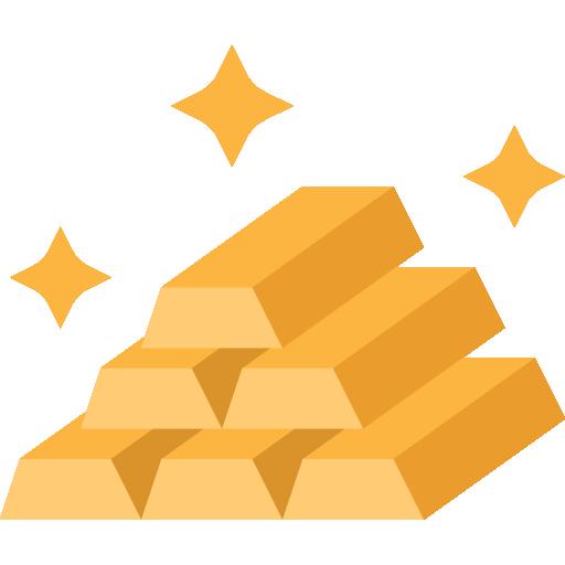 icône d'illustration or